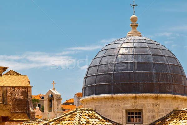 Stock photo: Dome of the Church in Dubrovnik, Croatia