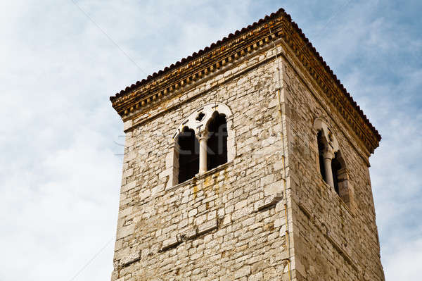 Close View of Bell Tower in Rijeka, Croatia Stock photo © anshar