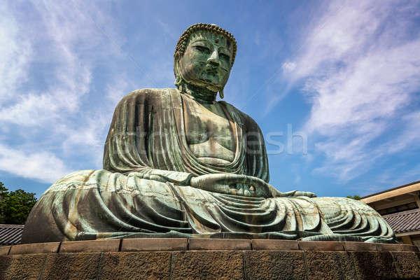 Будду бронзовый статуя храма путешествия Сток-фото © anshar