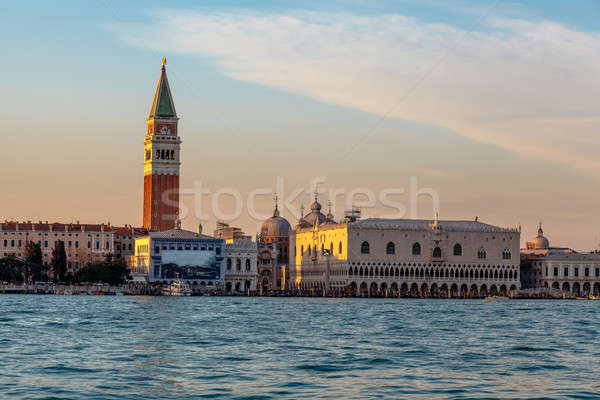 View of Doge's Palace, Campanella and San Marco Cathedral from t Stock photo © anshar