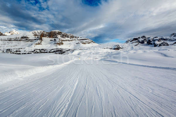 Ski resort Italiaans alpen Italië Stockfoto © anshar