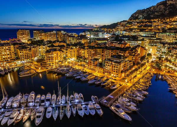 Монако порт роскошь французский воды Сток-фото © anshar