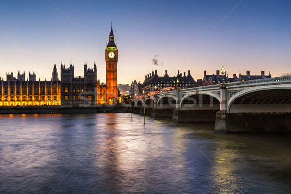 Big Ben reine tour pont Photo stock © anshar