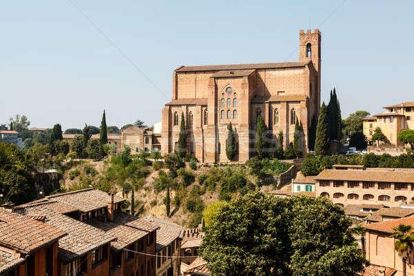 Church of San Domenico in Siena, Tuscany, Italy Stock photo © anshar