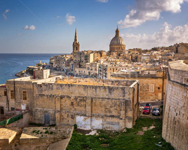 Stock photo: Skyline of the Maltese Capital city Valletta, Malta