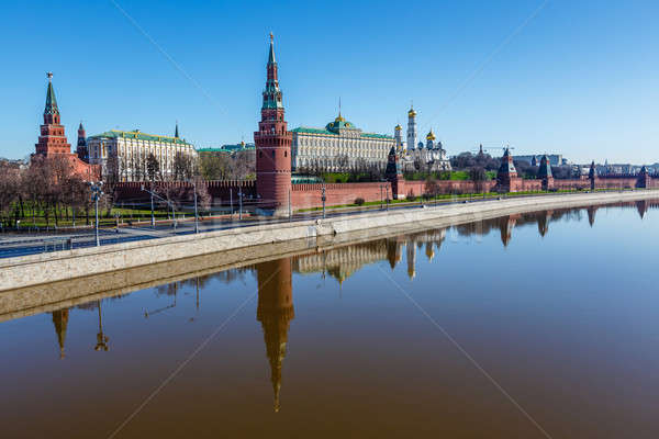 Moscow Kremlin and Ivan the Great Bell Tower, Russia Stock photo © anshar