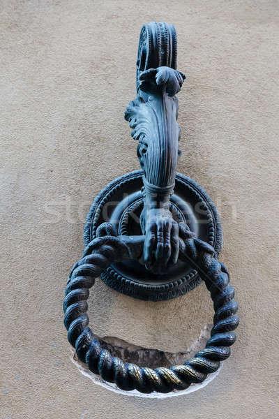 金属 リング ネクタイ 馬 トスカーナ イタリア ストックフォト © anshar