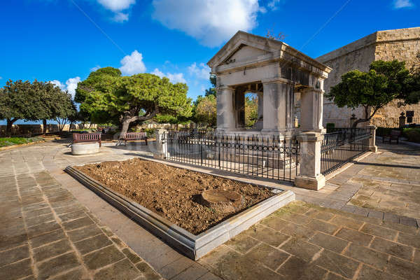 Stock photo: Lord Hastings Monument in Valletta, Malta