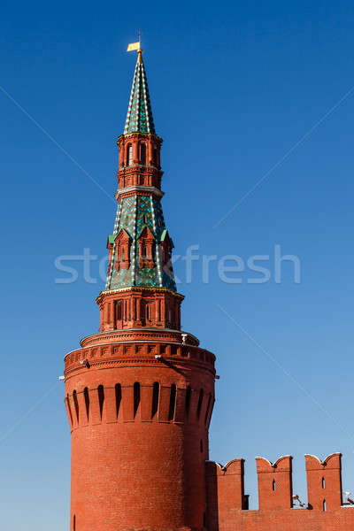 Tour Kremlin mur Moscou Russie bâtiment Photo stock © anshar