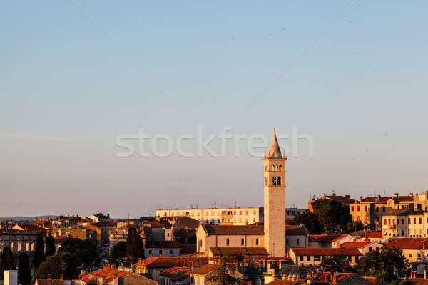 Panoramic View on the City of Pula in Istria, Croatia Stock photo © anshar