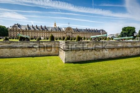 Háború történelem múzeum Párizs Franciaország hotel Stock fotó © anshar