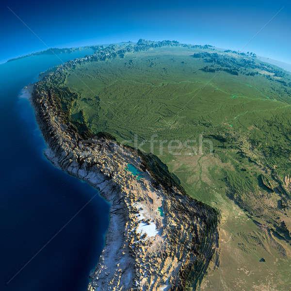 詳しい 地球 ボリビア ペルー ブラジル ストックフォト © Antartis