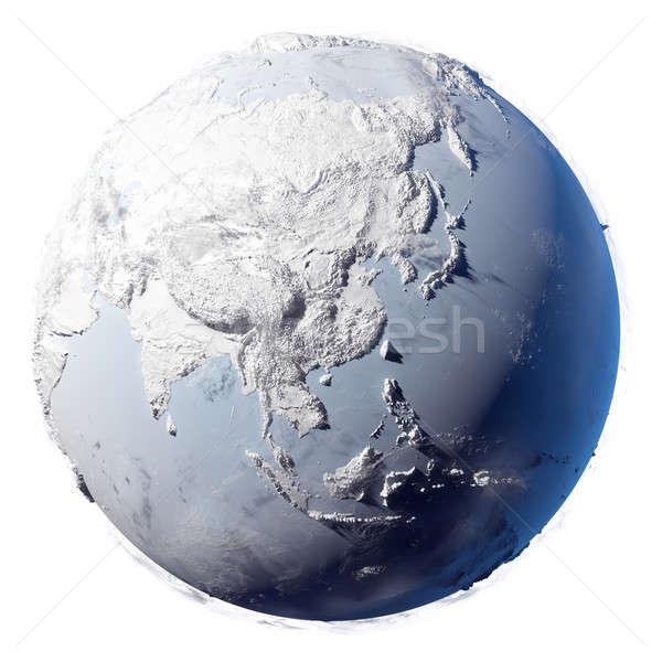 Snow Planet Earth Stock photo © Antartis