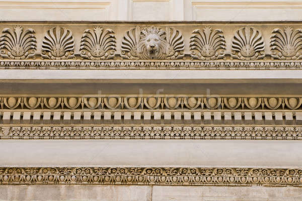 Fragment of ornate relief Stock photo © Antartis