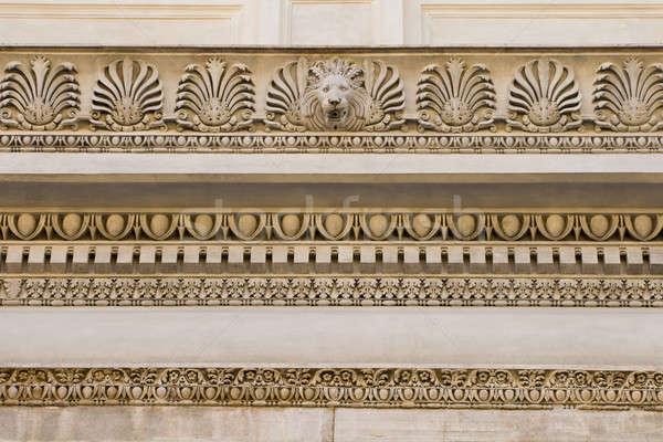 Fragment opluchting Rome Italië gebouw Stockfoto © Antartis