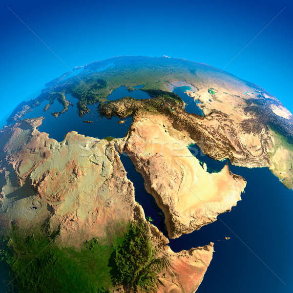 View of the Middle East from Space Stock photo © Antartis