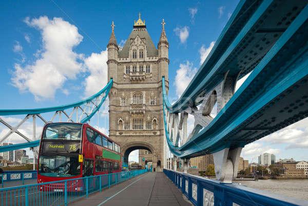 The famous Tower Bridge in London, UK Stock photo © Antartis