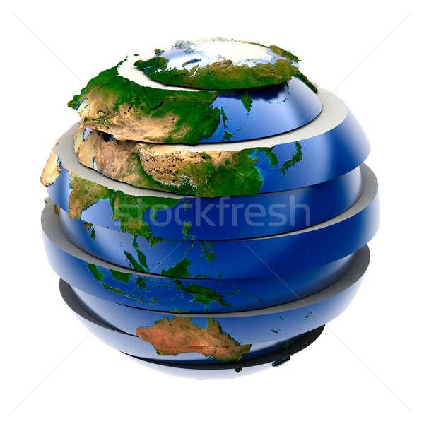 The Global Puzzle Stock photo © Antartis