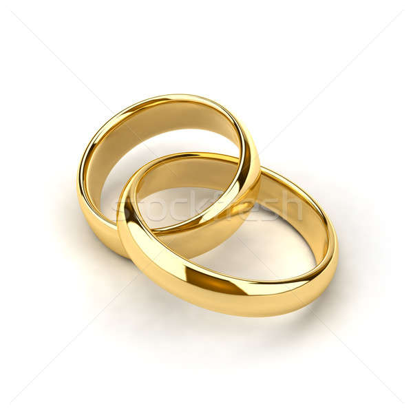 Wedding rings Stock photo © Antartis