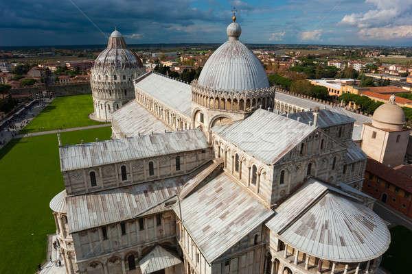 Kathedraal Italië architectuur toren monumentaal Stockfoto © Antartis