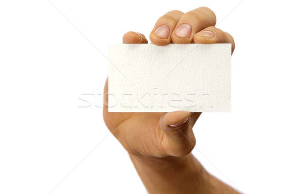 Business card Stock photo © Antartis