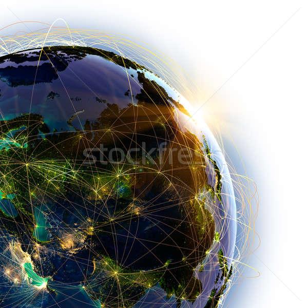 メイン 空気 アジア 詳しい 地球 ストックフォト © Antartis