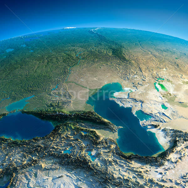 Detailed Earth. Caucasus Stock photo © Antartis