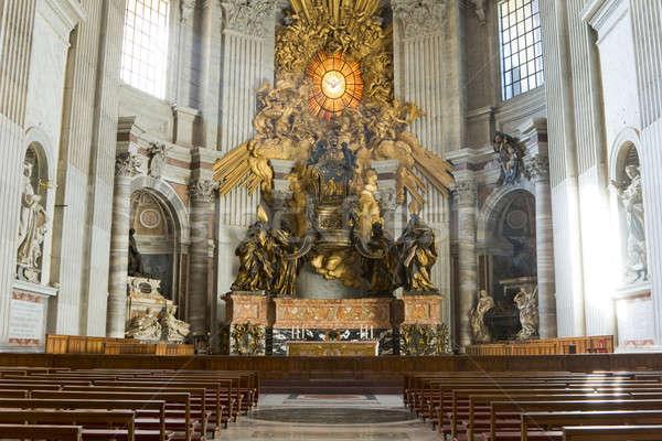 Сток-фото: святой · базилика · интерьер · Ватикан · Рим · Италия