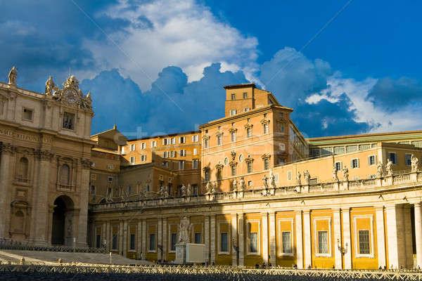 バチカン 宮殿 公式 法王 空 ストックフォト © Antartis