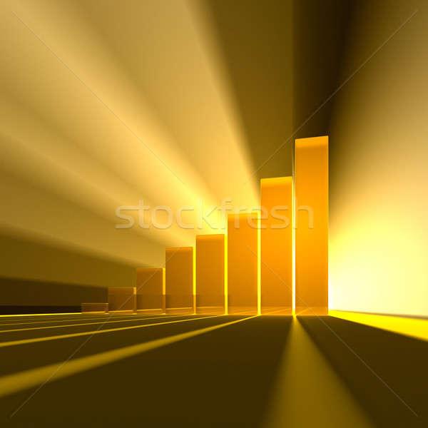 Business graph Stock photo © Antartis