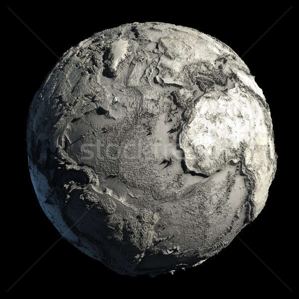 Dead Planet Earth Stock photo © Antartis