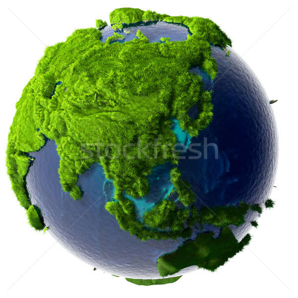 Green Planet Earth Stock photo © Antartis