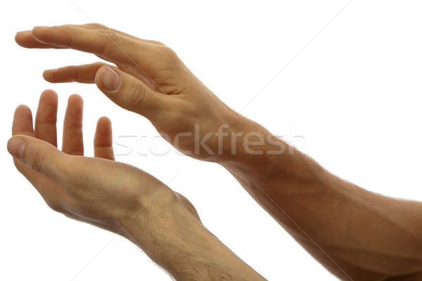 Hands clapping Stock photo © Antartis