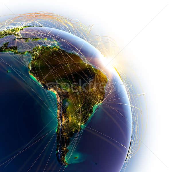 ストックフォト: メイン · 空気 · 詳しい · 地球