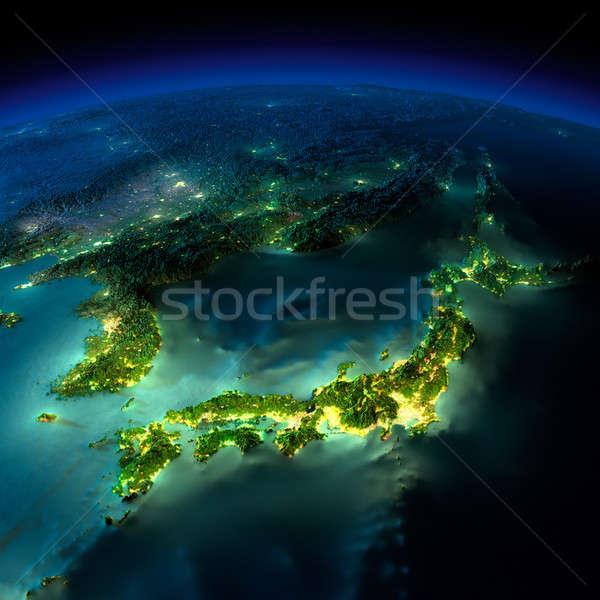 ストックフォト: 1泊 · 地球 · 作品 · アジア · 日本 · 中国