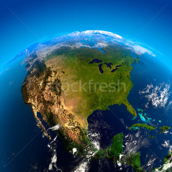 North America from space Stock photo © Antartis