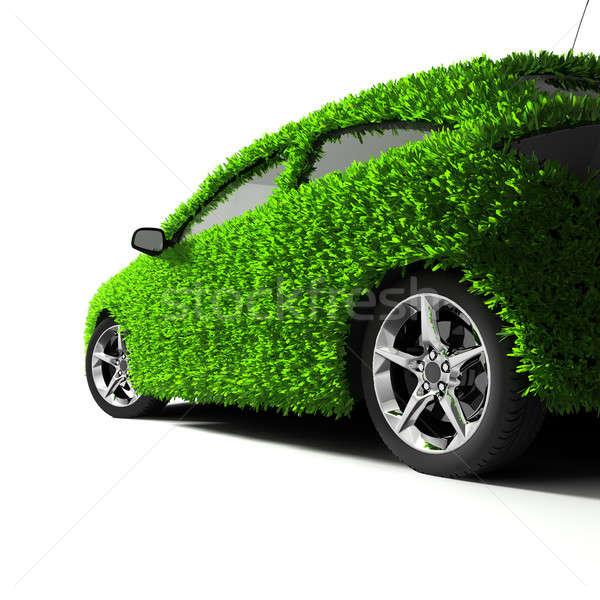 Foto d'archivio: Metafora · verde · auto · corpo · superficie · coperto
