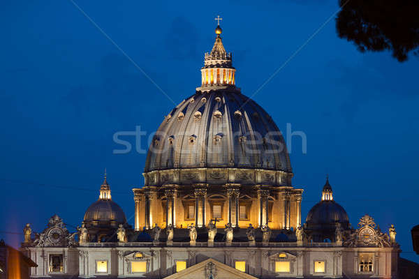 View on cupola of St.Peter's Cathedral Stock photo © Antartis