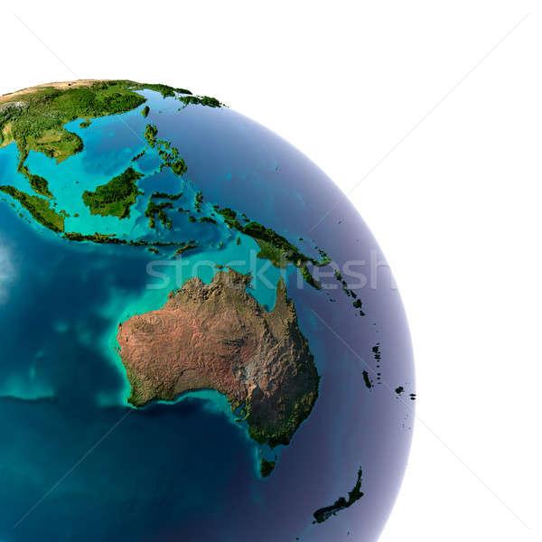 Réaliste planète terre naturelles eau terre Photo stock © Antartis