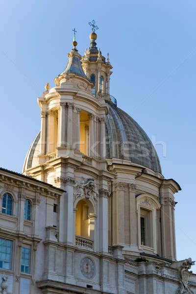 Piazza Navona. Rome Stock photo © Antartis