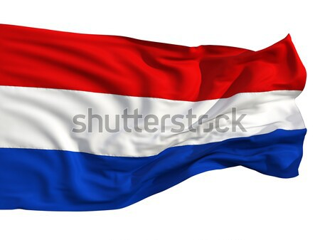 Russian flag, fluttering in the wind. Stock photo © Antartis