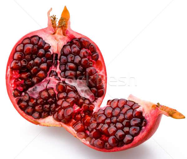 Juicy sliced pomegranate Stock photo © Antartis