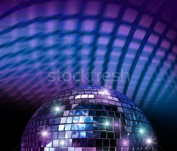 Disco mirror ball Stock photo © Anterovium