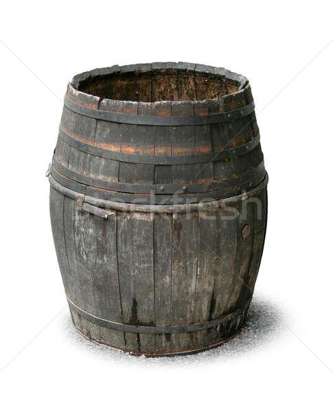 Old wooden barrel Stock photo © Anterovium