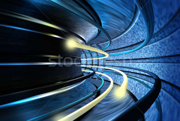 Tunnel of speed Stock photo © Anterovium