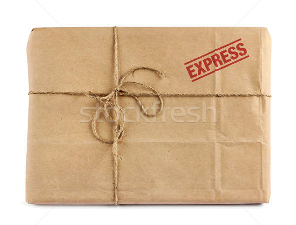 Brown mail delivery package Stock photo © Anterovium