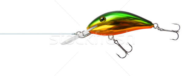 Fishing lure wobbler isolated Stock photo © Anterovium