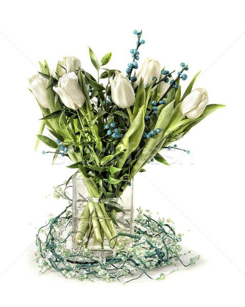 Distinguished tulip arrangement Stock photo © Anterovium