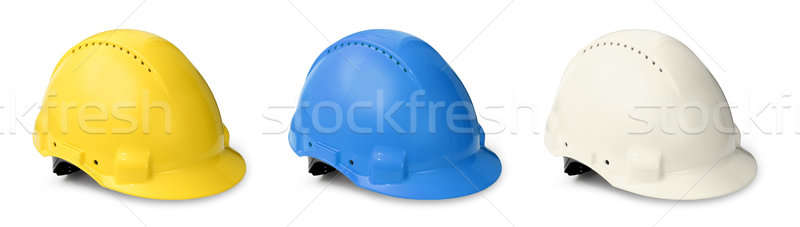 Hard hat color collection Stock photo © Anterovium