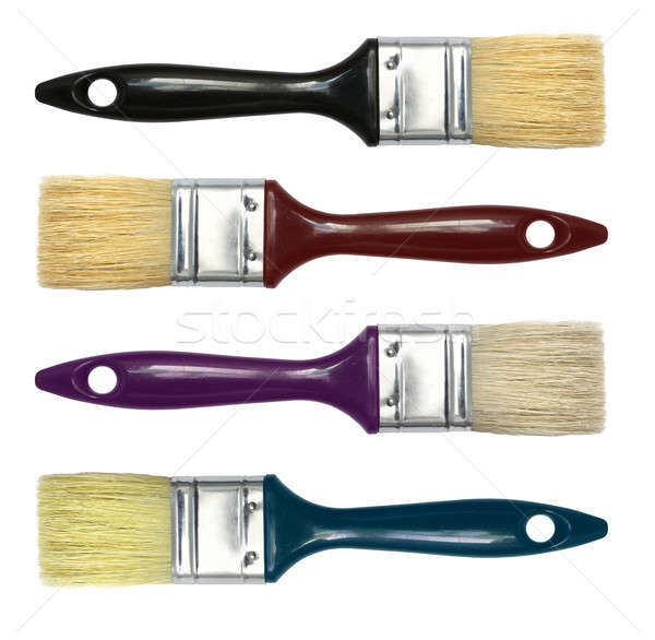 Set of paint brushes Stock photo © Anterovium